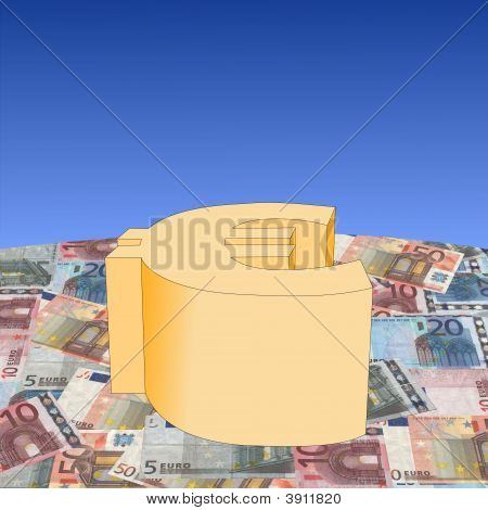 Euro Symbol On Currency