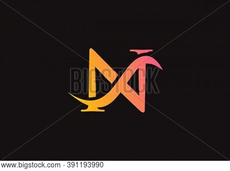 Minimal N Letter Linked Logo For Business And Company Identity. Creative Letter N Logo Vector Templa