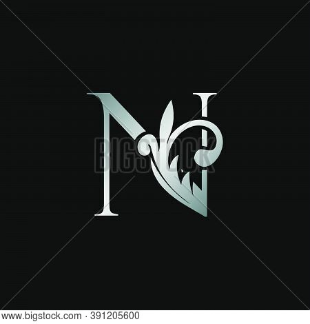 Classy Design Letter N Logo Icon, Vector Design Can Use Monogram Sign Symbol.