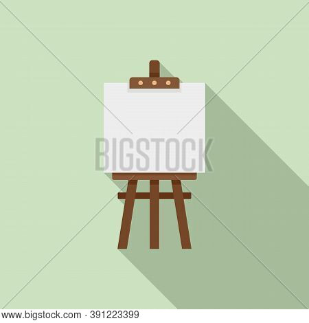 Easel Icon. Flat Illustration Of Easel Vector Icon For Web Design