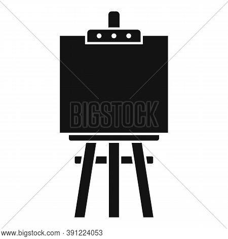 Easel Icon. Simple Illustration Of Easel Vector Icon For Web Design Isolated On White Background