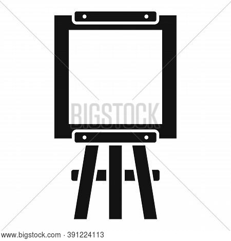 Equipment Easel Icon. Simple Illustration Of Equipment Easel Vector Icon For Web Design Isolated On