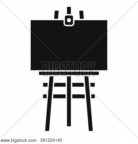 Frame Easel Icon. Simple Illustration Of Frame Easel Vector Icon For Web Design Isolated On White Ba