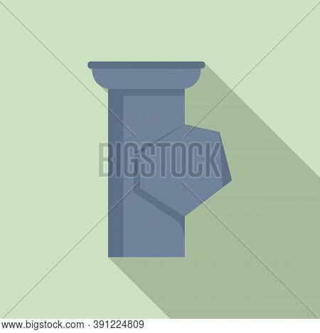Spout Gutter Icon. Flat Illustration Of Spout Gutter Vector Icon For Web Design