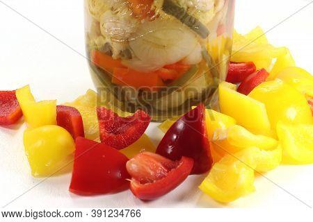 Pack Of Giardiniera With Fresh Seasonal Vegetables