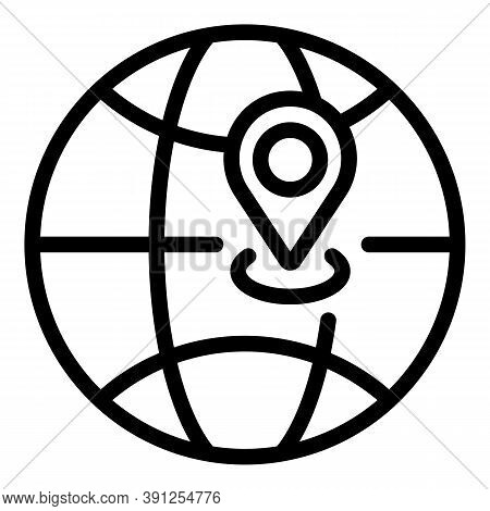 International Adaptation Icon. Outline International Adaptation Vector Icon For Web Design Isolated