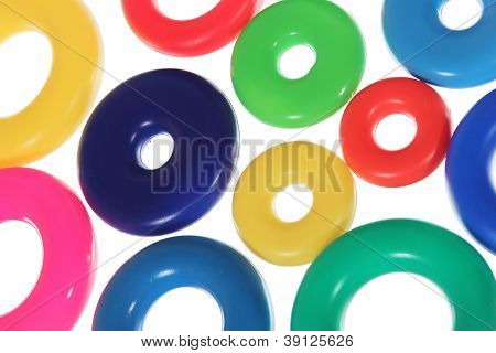 Abstract Background From Circles Or Rings Horizontal