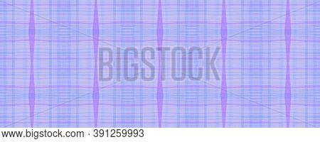 Elegant Check Plaid. Watercolor Tartan Pattern. Hipster Checkered Wallpaper. Seamless Check Plaid. E