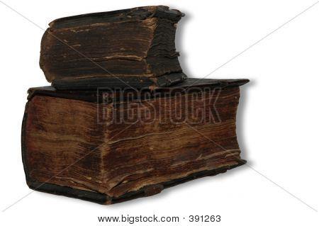 zwei alte Buch