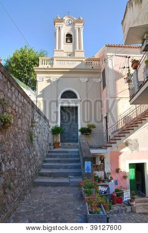 Church of St. Maria di Porto Salvo. Maratea. Basilicata. Italy.