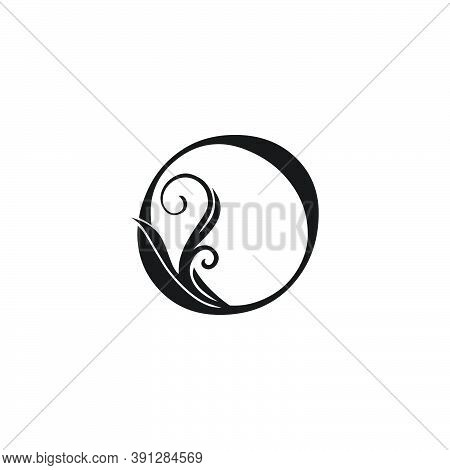 Monogram Luxury Initial Logo Letter O Vector Design Concept Luxury Floral Leaf For Luxuries Business