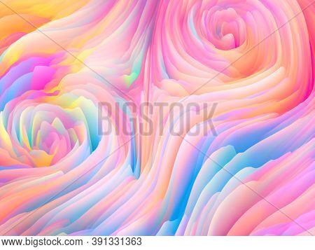 Swirling Colors Wallpaper