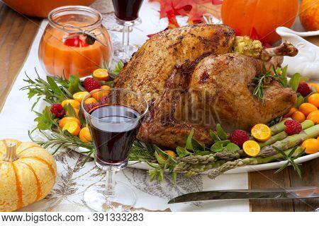 Citrus Glazed Thanksgiving Turkey