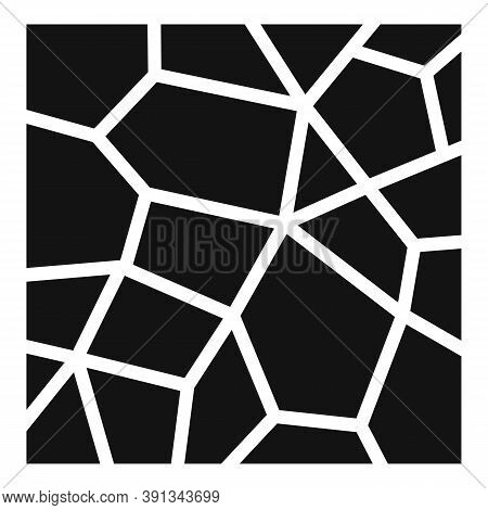 Paving Asphalt Icon. Simple Illustration Of Paving Asphalt Vector Icon For Web Design Isolated On Wh