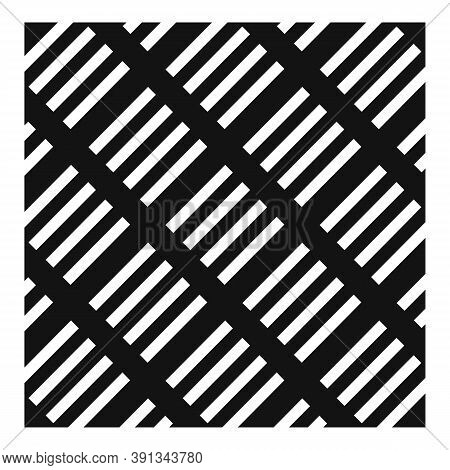 Paving Decoration Icon. Simple Illustration Of Paving Decoration Vector Icon For Web Design Isolated