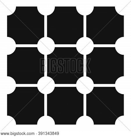 Paving Surface Icon. Simple Illustration Of Paving Surface Vector Icon For Web Design Isolated On Wh