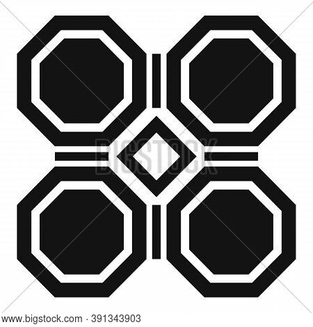 Garden Paving Icon. Simple Illustration Of Garden Paving Vector Icon For Web Design Isolated On Whit