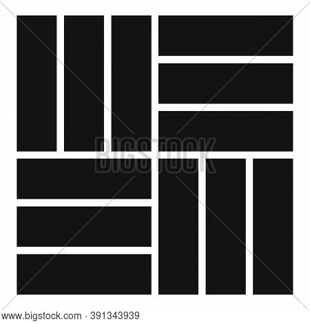 Tile Paving Icon. Simple Illustration Of Tile Paving Vector Icon For Web Design Isolated On White Ba