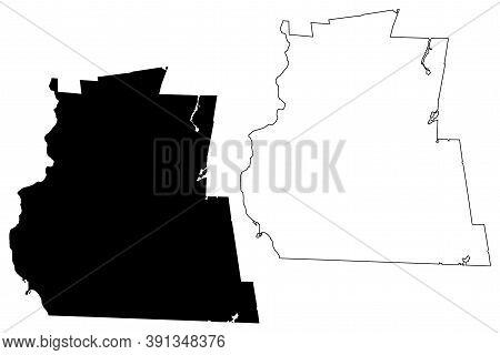 Cheshire County, New Hampshire (u.s. County, United States Of America, Usa, U.s., Us) Map Vector Ill