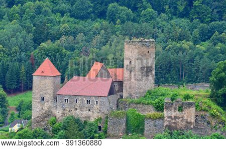 Hardegg Is A Town In The District Of Hollabrunn In Waldviertel In Lower Austria Directly On The Czec