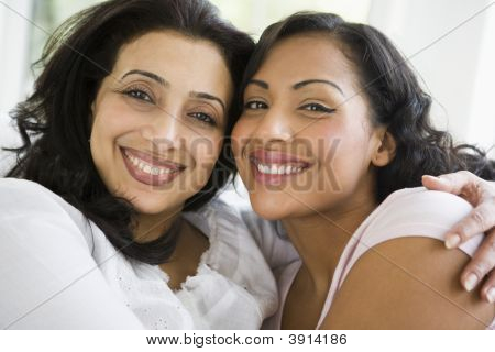 Middle Eastern Women At Home