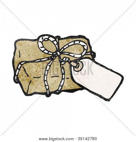 cartoon parcel