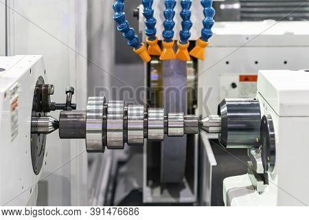 High Accuracy Surface Cylindrical Cnc Grinding Machine And Work Piece Of Manufacturing Finishing Pro