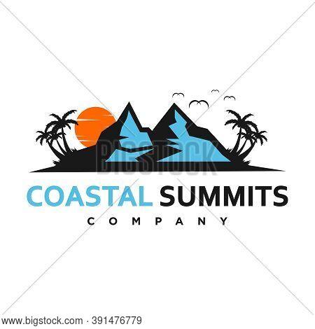 Coastal Summits Logo Your Company Or Brand
