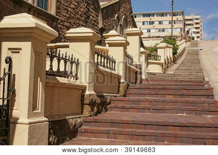 The Long Steep Steps
