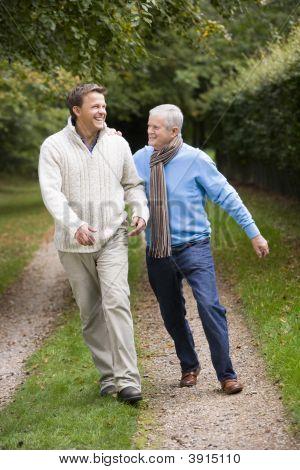 Men On Walk Together