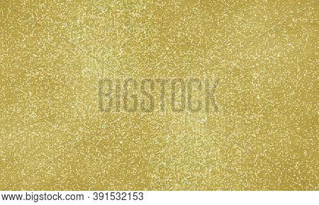 Gold Christmas background, glitter golden shine sparkles and sequins glow. Golden shiny and glittering confetti backdrop for Xmas card, gold foil magic glittery shimmer pattern effect