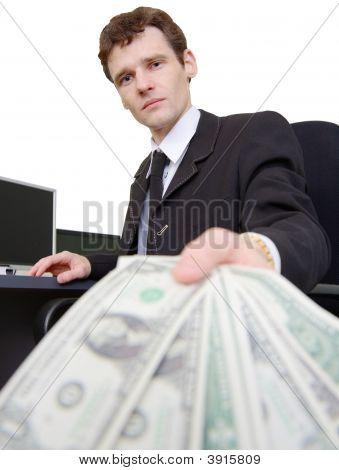 Man And Dollars