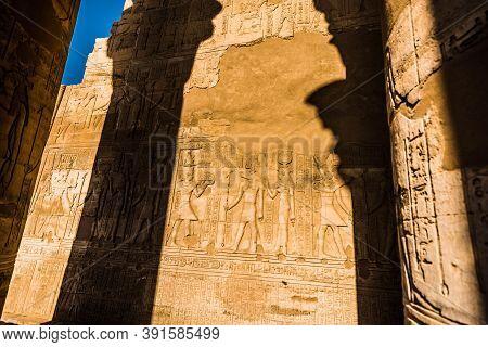 Egypt Nil Com Ombo Temple Temple of Com Ombo Temple on the Nile Com Ombo Temple of Horus and Sobek g