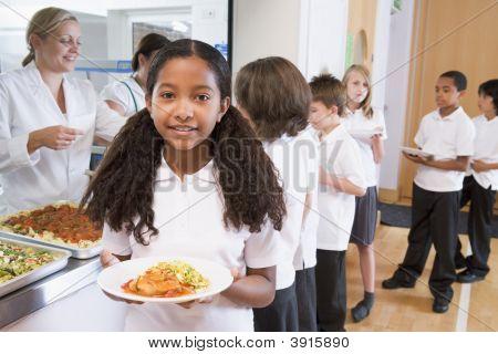Schüler Befehlsoptimierung für Schule Abendessen
