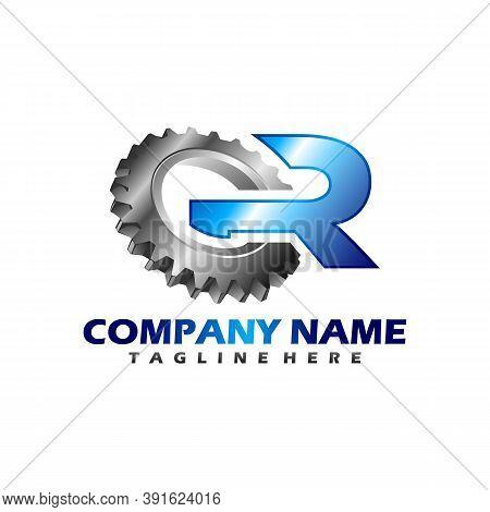 Gear Logo Concept, Letter G, Vector Logo Concept, Gear Logo Vector Illustration Eps10. Abstract Logo