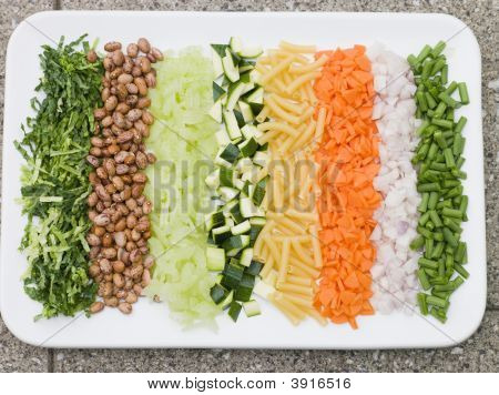 Vegetables For Minestrone Soup