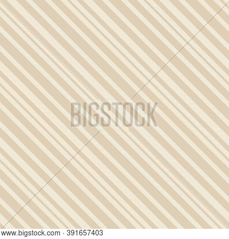 Diagonal Stripes Pattern. Simple Vector Seamless Texture With Thin Inclined Lines. Abstract Minimali