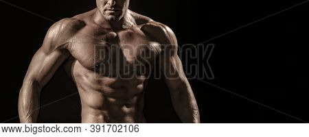Torso Six Packs Attractive. Six Pack Abs. Strong Man With Torso. Sexy Muscular Man. Sensual Mans Bod