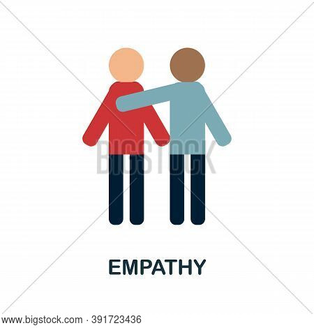Empathy Icon. Simple Element From Core Values Collection. Creative Empathy Icon For Web Design, Temp