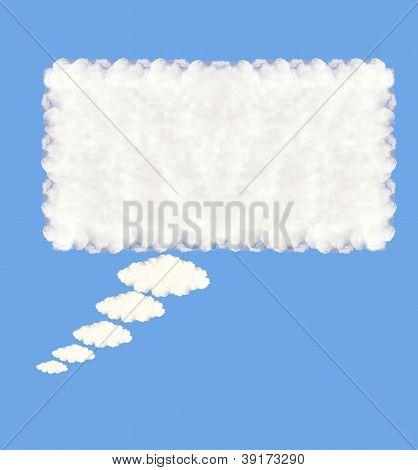 Speech Bubble Clouds