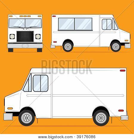 Food Truck Blank