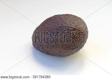 Dark Brown Skin At One Avocado Vegetable