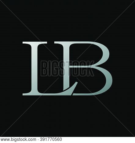 Simple Classy Letter L And B, Lb Logo Icon. Creative Vector Logo Icon Design Letter Lb Concept  For