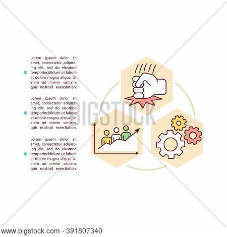 Social Movements Concept Icon With Text. Political Association. Common Goal. Social Changes. Ppt Pag