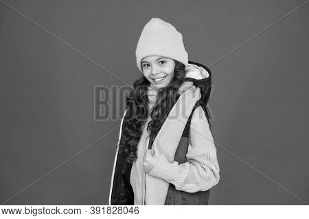 Winter Weather Forecast. Wear Warm Clothes. Fashion For Kids. Childhood Happiness. Pick Matching Acc