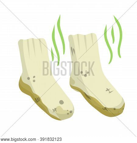 Dirty Sock. Smelly Feet. Sloppy Clothes. Stinky Toe.