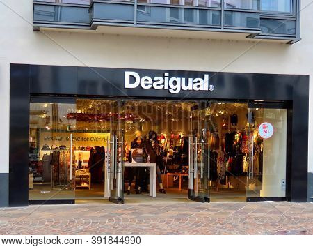 Desigual Shop Sign In Trier, Rhineland-palatinate, Germany - October 20, 2020