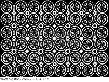 African Wax Print Fabric, Ethnic Handmade Ornament For Your Design, Tribal Pattern Motifs Geometric
