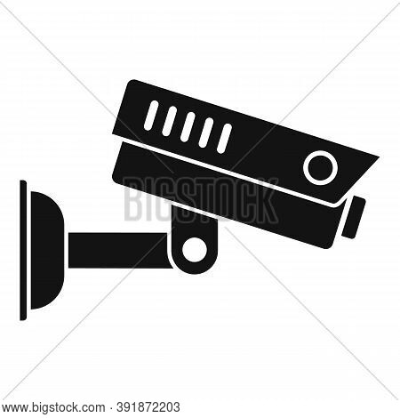 Airport Security Camera Icon. Simple Illustration Of Airport Security Camera Vector Icon For Web Des