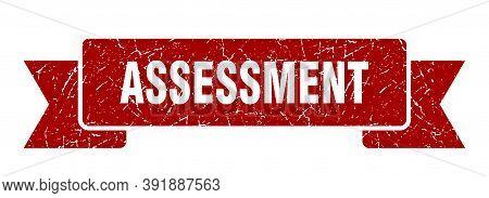 Assessment Ribbon. Assessment Grunge Band Sign. Assessment Banner
